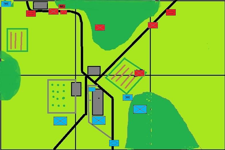 Battle report map